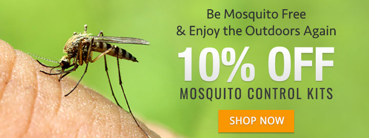 Mosquito Control Kits Now 10% Off