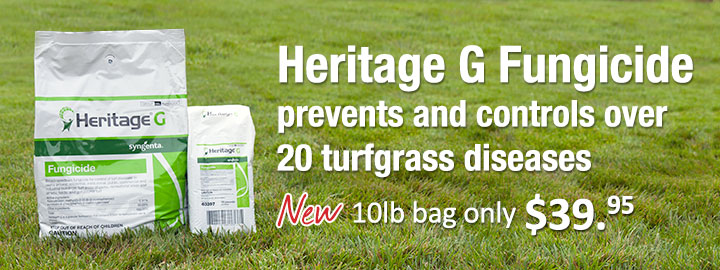 Heritage G 10lb bag only $39.95