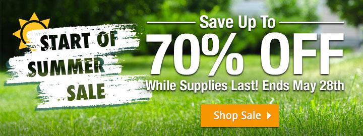 Save Up To 70% Off - While Supplies Last! Ends May 28th