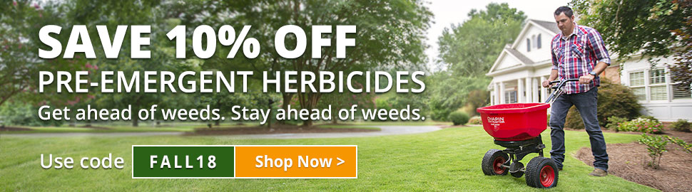 Fall Pre-Emergent Herbicide Sale