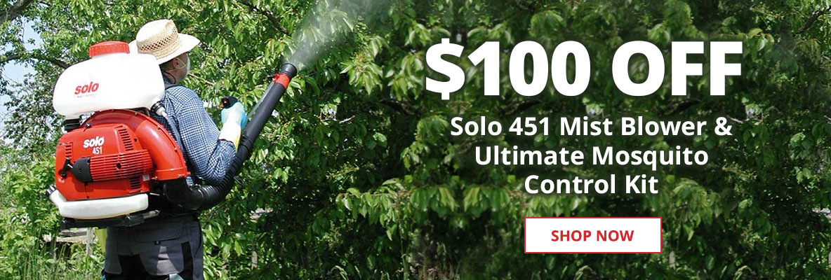 $100 off Solo 451 and Ultimate Mosquito Kit