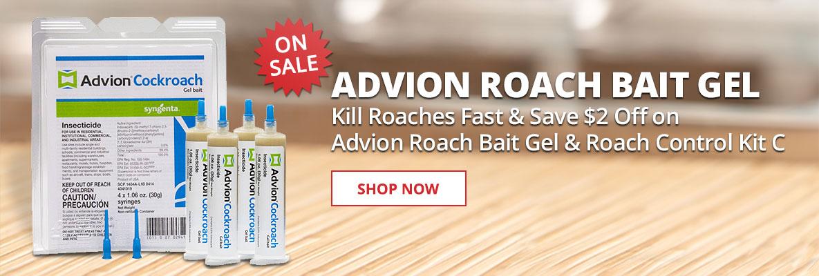 Advion Roach Bait Gel On Sale Now