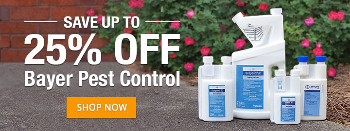 Save up to 25% Off on Bayer Pest Control