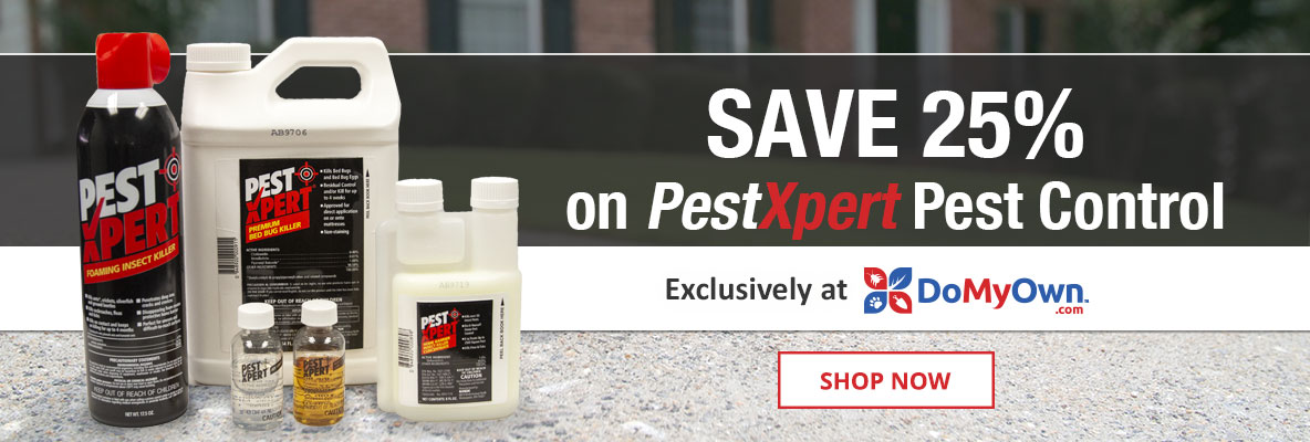 Save 25% on PestXpert Products exclusively at DoMyOwn.com