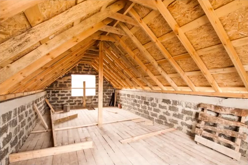 Image of the attic area in a house