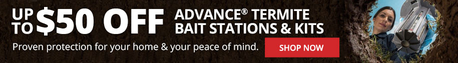 Save up to $50 on Advance Termite Bait Stations