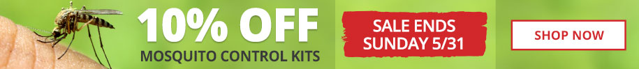 10% Off Mosquito Control Kits -Sale Ends Sunday 5/31