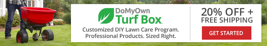 Save 20% on Customized Lawn Care Products with a DoMyOwn Turf Box Subscription