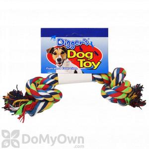 Boss Pet Large Multi - Color Rope Bone