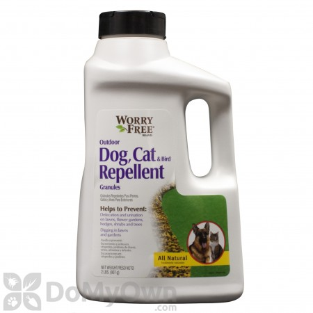 Worry Free Dog, Cat And Bird Repellent Granules