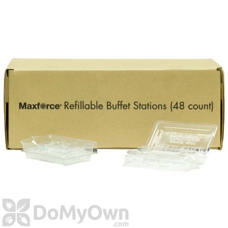 Maxforce Refillable Buffet Station Box (48 stations)