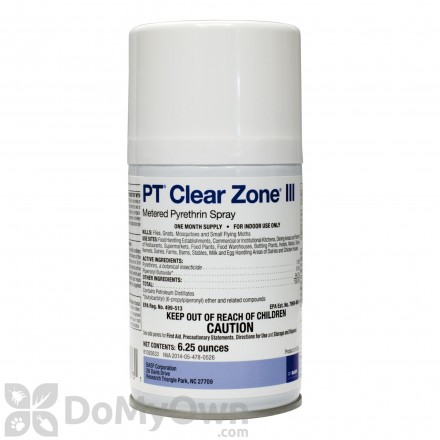 Clear Zone Metered Aerosol CASE (12 cans)
