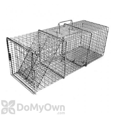 Tomahawk Professional Series Rigid Live Trap One Trap Door Model 106SS (Rabbit sized animals)