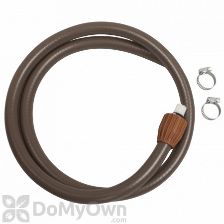 Chapin Nylon Reinforced Hose w/Clamps 48 in. (6-6141)