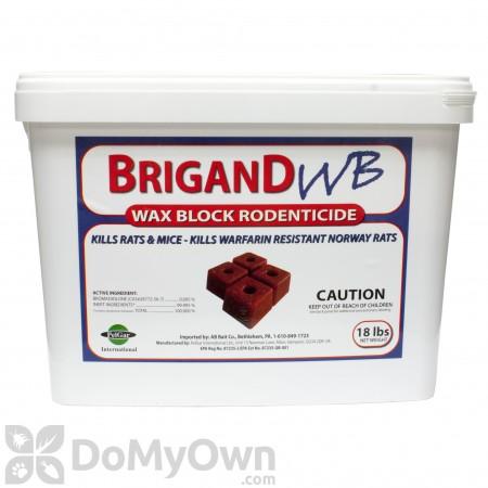 Brigand WB Wax Block Rodenticide