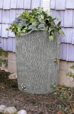 Impressions 50 Gallon Bark Rain Saver - Light Granite