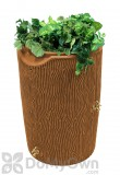 Impressions 50 Gallon Bark Rain Saver - Terra Cotta