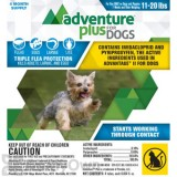 Adventure Plus for Dogs 11 - 20 lbs.