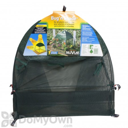 NuVue Bug N Shade Insect & Shade Cover - Synthetic Framed