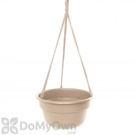 Bloem Dura Cotta Hanging Basket 12 in. Taupe