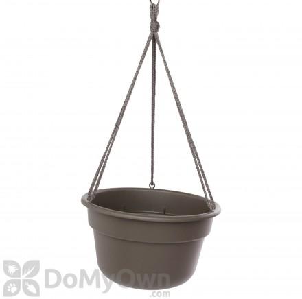 Bloem Dura Cotta Hanging Basket 12 in. Peppercorn