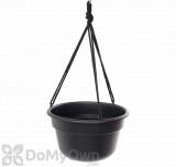 Bloem Dura Cotta Hanging Basket 12 in. Black