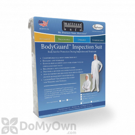 Mattress Safe BodyGuard - Reusable Inspection Suit