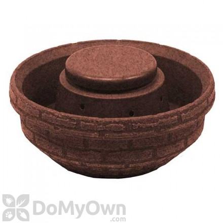 English Composting Garden - Red Brick