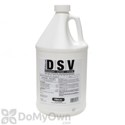 Nisus DSV Disinfectant Sanitizer Virucide Free Shipping