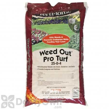Ferti-lome Weed Out Pro Turf 25-0-4 Lawn Fertilizer 26 lb. bag