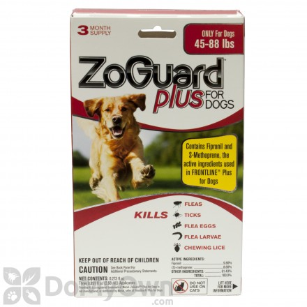 ZoGuard Plus for Dogs (45-88 lbs.)
