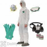 Professional Safety Kit with Comfo Respirator - Size XL