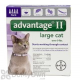 Advantage II for Cats Large
