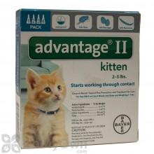 Advantage II for Cats (Kittens)