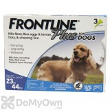 Frontline Plus Tick and Flea Treatment for Medium Dogs (23 - 44 lbs)
