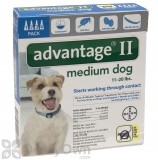 Advantage II for Dogs Medium