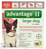 Advantage II for Dogs Large