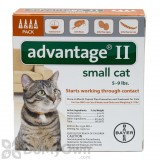 Advantage II for Cats Small