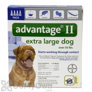 Advantage II for Dogs Extra Large