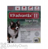 K9 Advantix II Topical Treatment for Large Dogs 21 - 55 lbs.