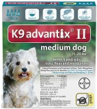 K9 Advantix II Topical Treatment for Medium Dogs 11 - 20 lbs.