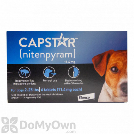 Capstar Tablets for Dogs 2 - 25 Ibs