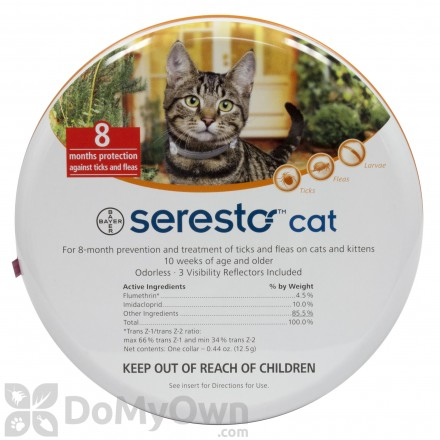 Seresto Cat Flea and Tick Collar