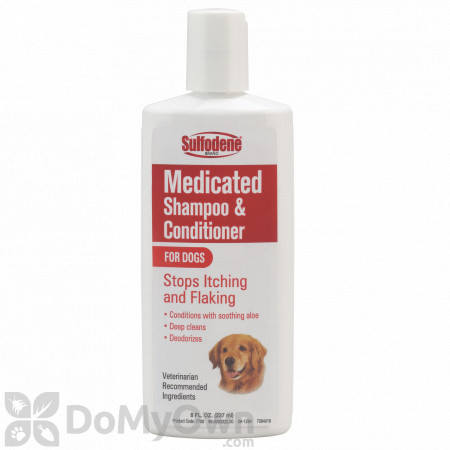 Sulfodene Medicated Shampoo and Conditioner for Dogs