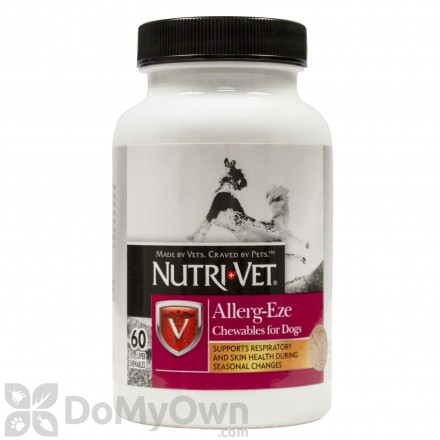 Nutri-Vet Allerg-Eze Chewables for Dogs