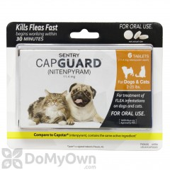 Sentry Capguard Flea Tablets for Dogs and Cats