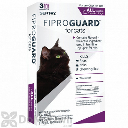 Fiproguard for Cats Flea and Tick Treatment