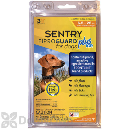 Fiproguard Plus IGR Dog Flea and Tick Spot - On