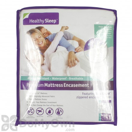 Healthy Sleep Allergy Premium Plus Mattress Encasement