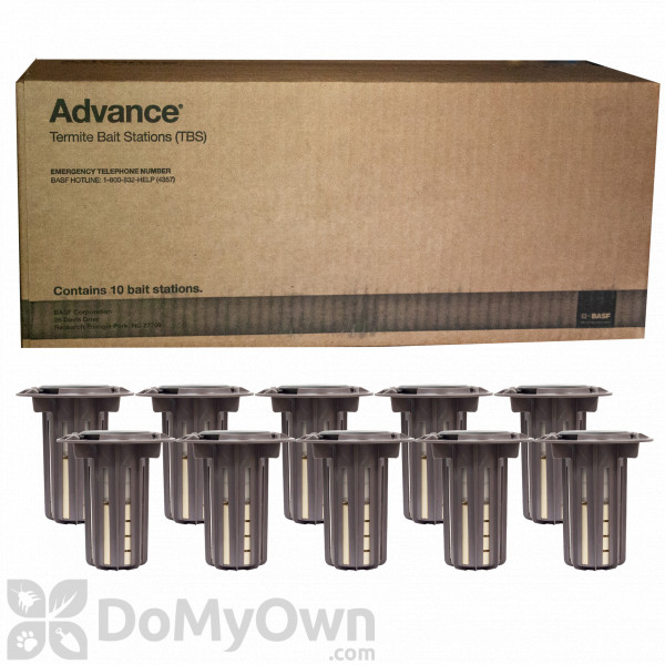 Advance Termite Bait Stations 10 Stations Free Shipping